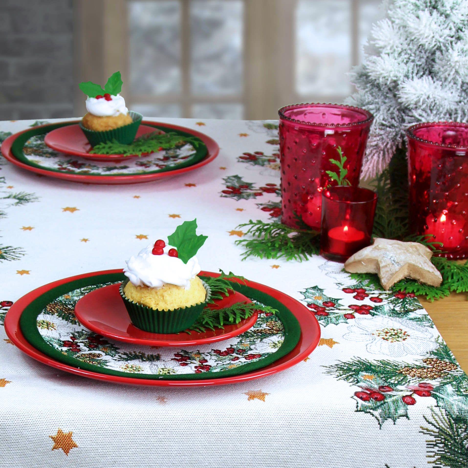 Weihnachten: Tischläufer von Sander. Online shoppen: www.sander ...