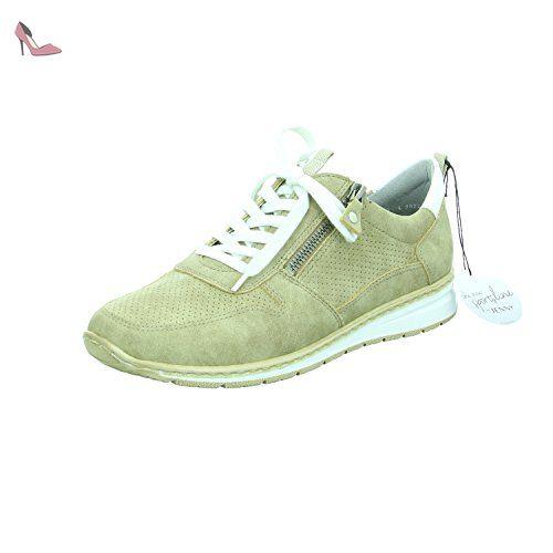 Sapporo - Sneakers Basses Femme - Grau (Grigio -Silber) - 37 EUJenny 1gQWH
