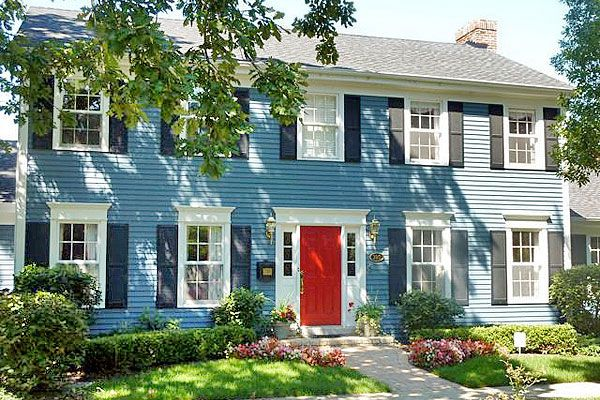 Colonial home front porch ideas - Home ideas