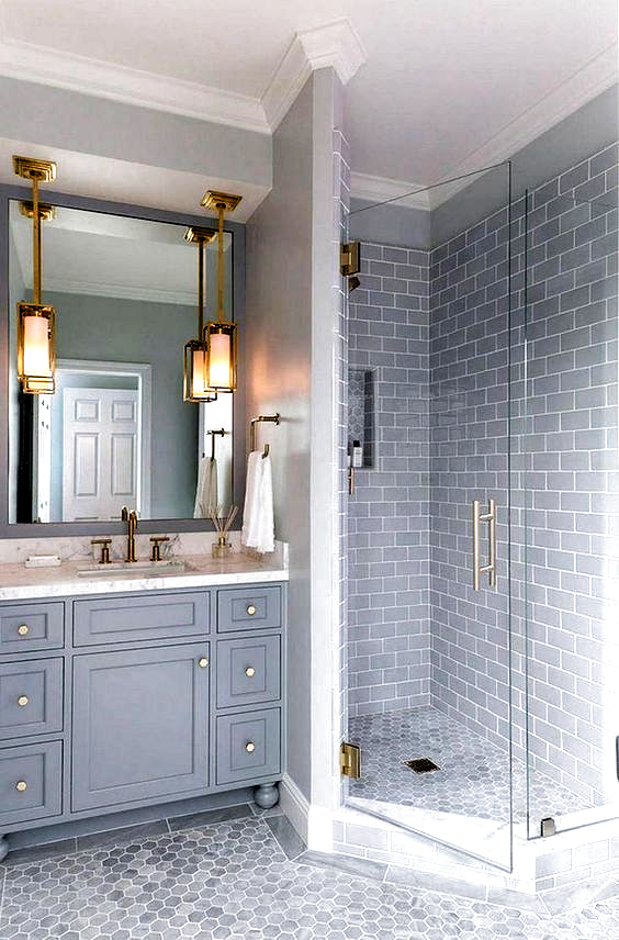 7 Top Trends And Cheap In Bathroom Tile Ideas For 2018 Bathr In 2020 With Images Bathroom Remodel Master Small Master Bathroom Bathroom Tile Designs