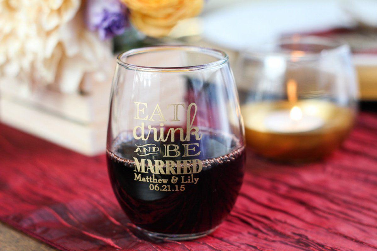 Wedding Favors Etiquette Fall Wedding Colors Wine Theme Wedding Wedding Wine Glasses