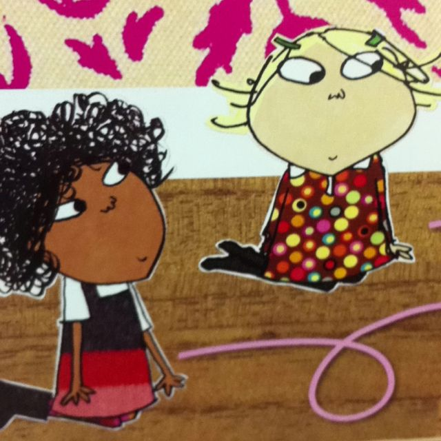 Lola And Lotta Lauren Child S Awesome Creations Charlie And Lola Rock Cbeebies Children Illustration Children S Book Illustration Book Illustration