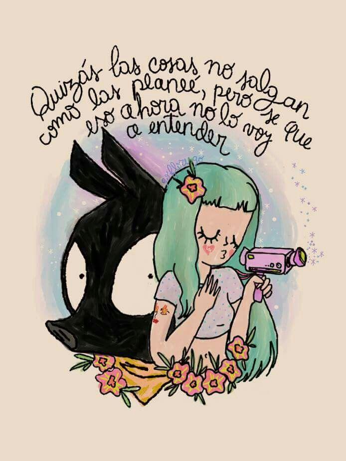 Go Flores Go Pensamientos Dibujos Frases Ilustracion Y