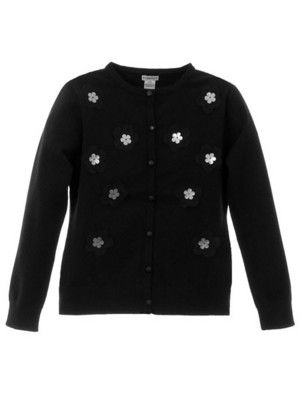 e21392ed876 KC Parker by Hartstrings Girls Black Cardigan