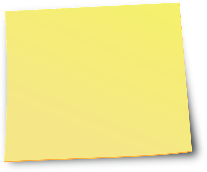Yellow Sticky Notes Png Image Sticky Notes Yellow Sticky Notes Notes Info