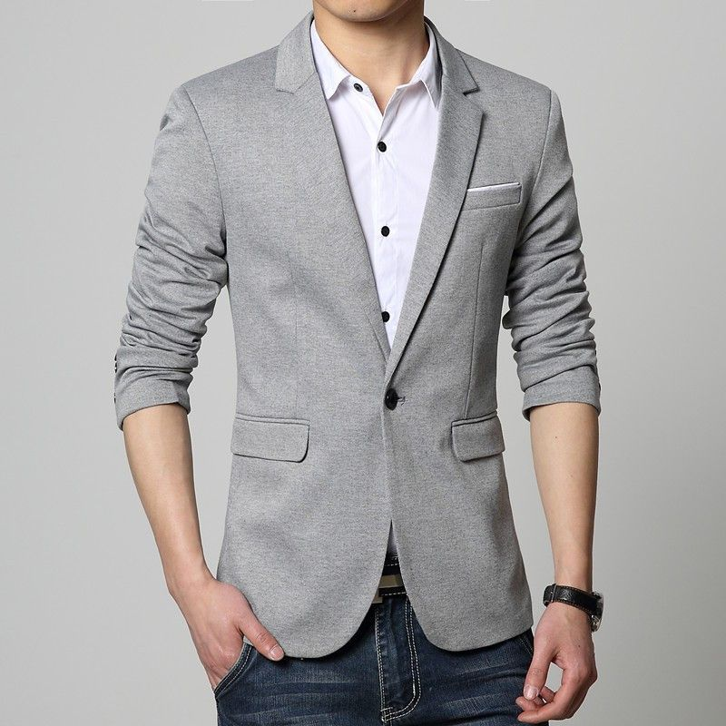 b8f525adf7d Korean Mens Luxury Business Casual Suit Blazers Jackets Professional Formal  Wedding Dress Beautiful Design Plus Size M-6XL