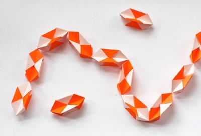 Make A Geometric Origami Garland