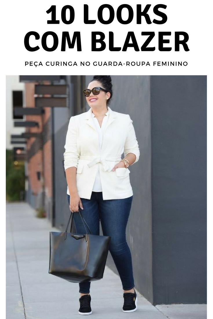 9fb51d04b8 10 looks com blazer. como usar blazer. blazer branco feminino. look  trabalho. dica de moda. moda feminina. moda para mulheres. look com blazer  branco e ...