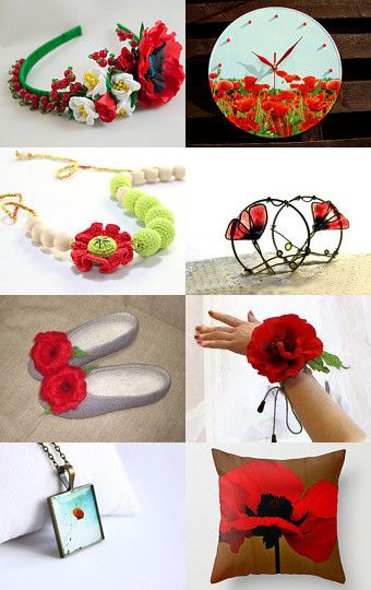 May finds. Poppies. Luxury red ... by Natalia Leschenko on Etsy--Pinned with TreasuryPin.com