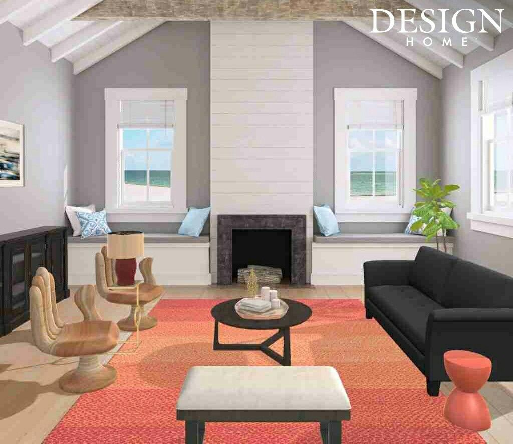 I Just Found This Interior Design Game! This Is My Design. Cottage On  Emerald