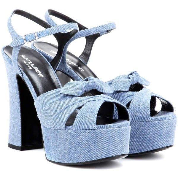 Designer Clothes, Shoes & Bags for Women | SSENSE. Denim SandalsDenim ...