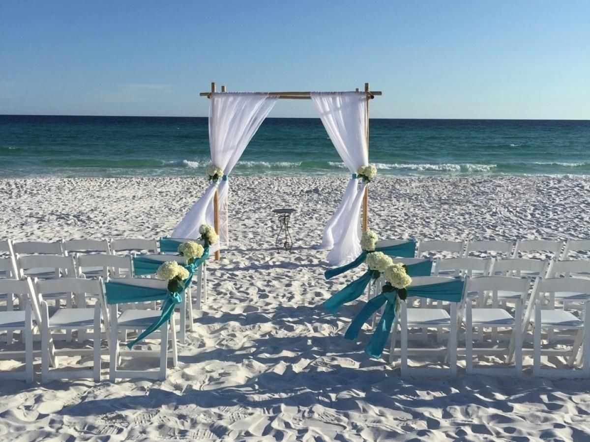 SouthWalton beach wedding at the Embassy Suites Hotel in ...
