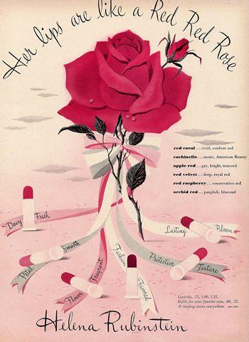Helena Rubinstein 1944 Lipstick