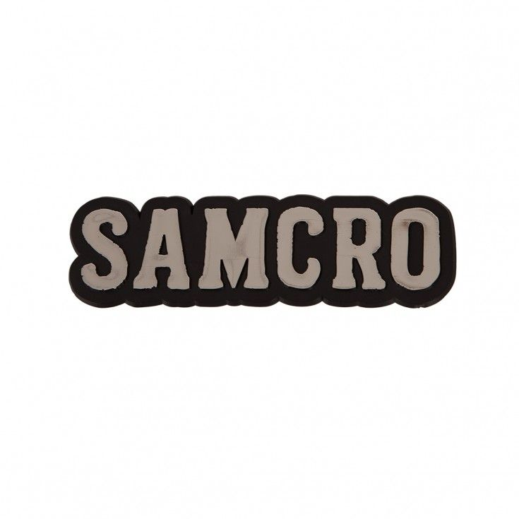 Sons of anarchy samcro 3d car decal