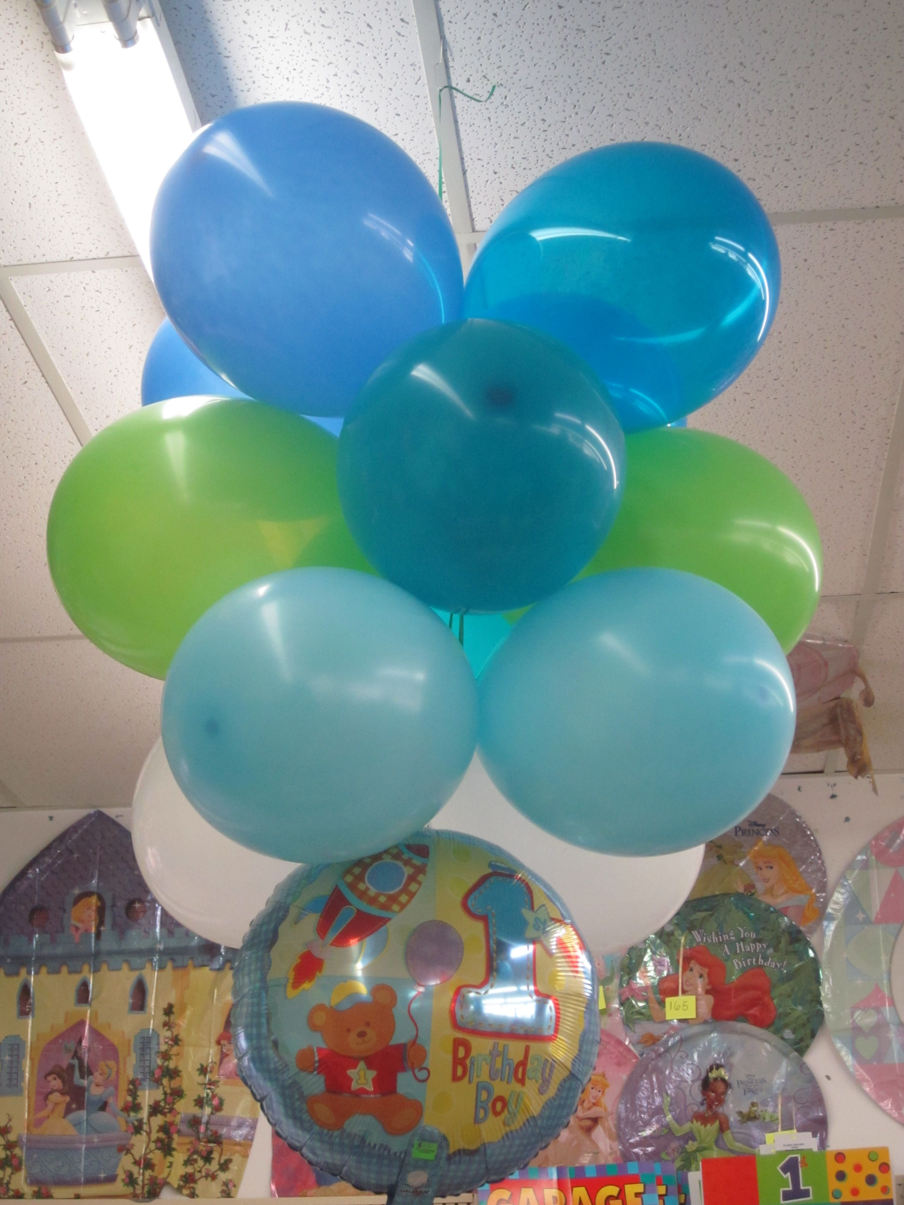 Decorations Hang Air Filled Balloons From Ceiling Balloons
