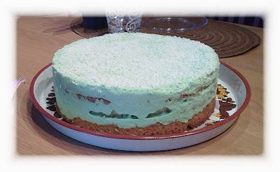 Coconut Lime Cake / Kookos-limekakku (vegan / vegaaninen)