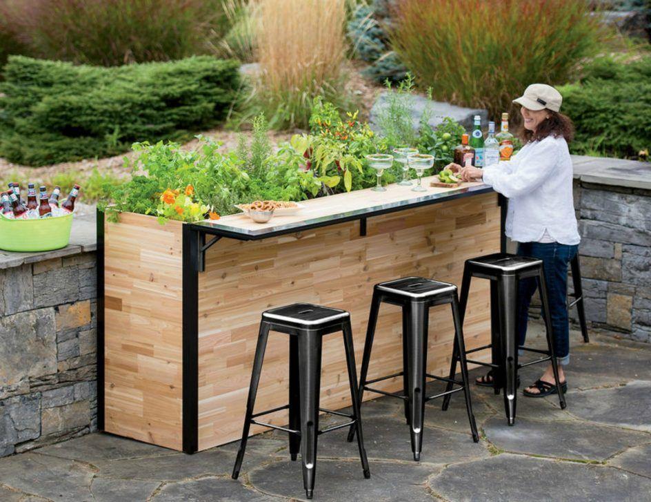 Nice Small Outdoor Bar Berlin Gardens Poly Set Bars Benches Picnic