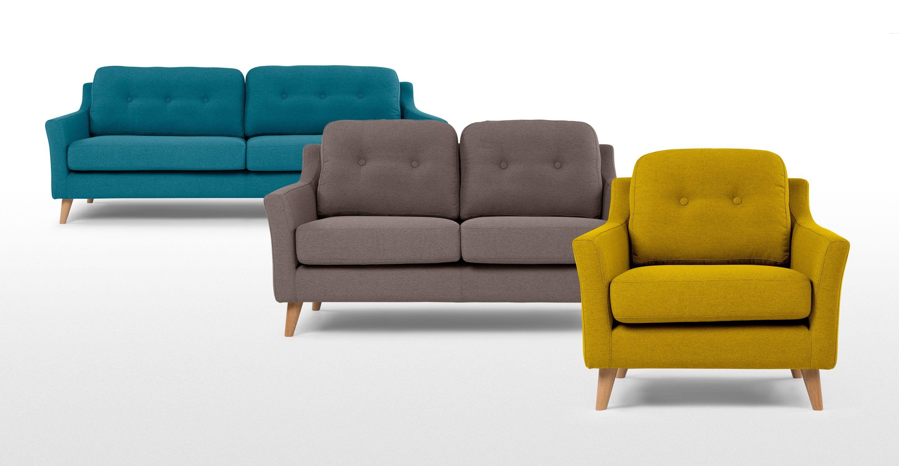 Huschen Rufus Sessel Senfgelb Neues Design Fr Dein Wohnzimmer