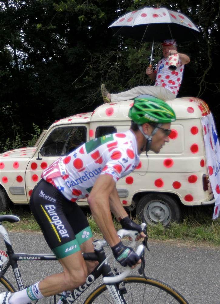 Fans of the Tour de France Cycling NBC Sports Tour de