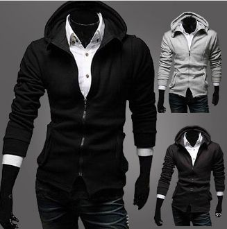 Men's Hoodie with Side Pockets