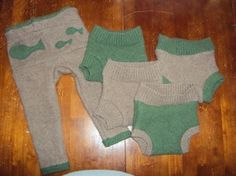 Tutorial to make your own wool diaper covers. So easy and affordable! I've already made one pair of pants and two soakers this week.