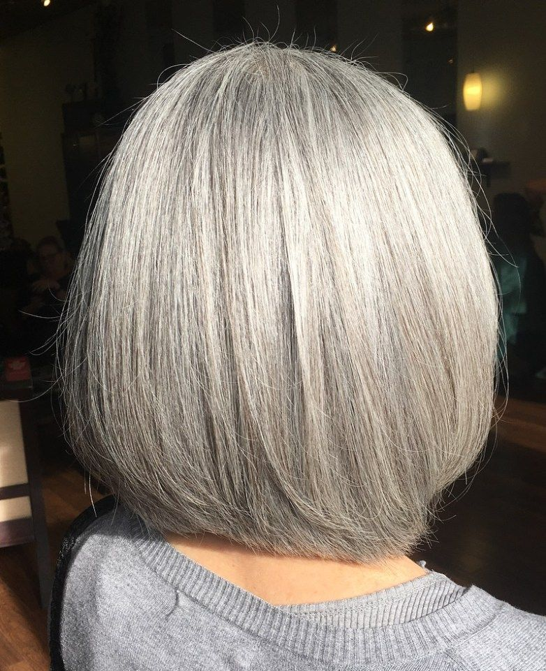 50 Gray Hair Styles Trending in 2020 With images ...