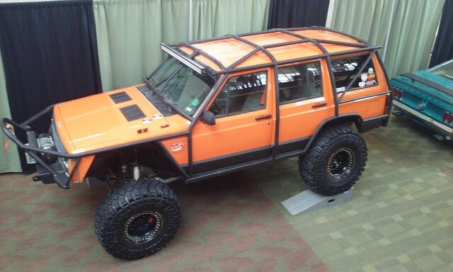Full Roll Cage Jeep Built By Summey Customs Custom Roll Cages