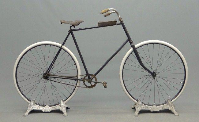 1893 Gormully & Jeffery pneumatic Rambler model 11, tall frame   Bicycle,  Vintage motorcycles, Vintage cycles