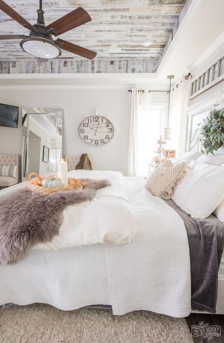 Homedecorbedroom Cozy master bedroom, Fall bedroom