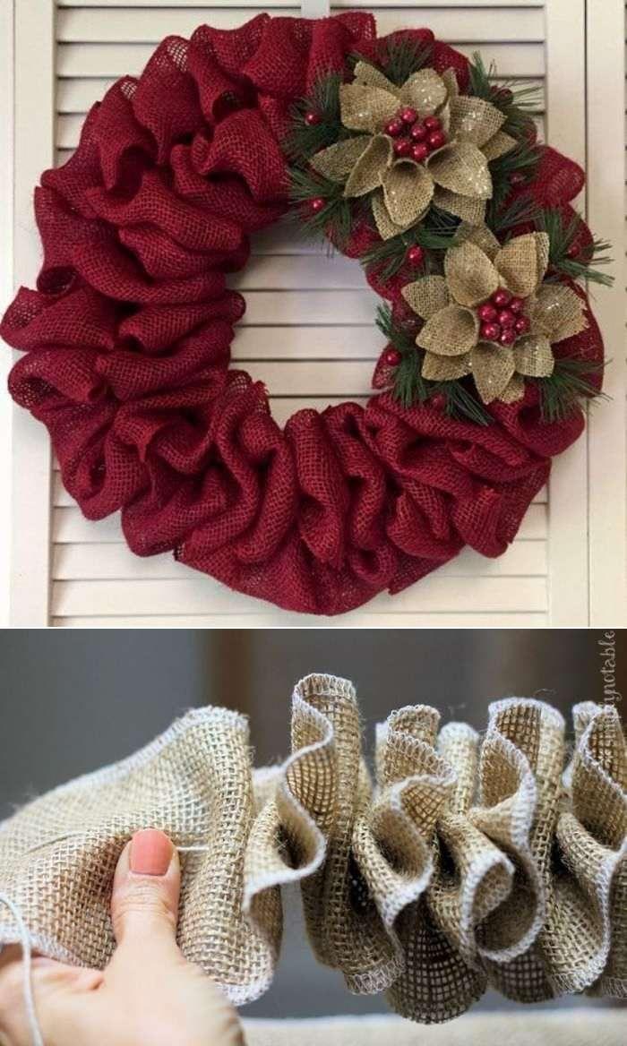 Preparando o Natal: Enfeites de Natal para porta ⋆