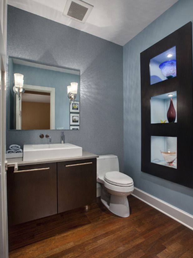 our 40 fave designer bathrooms hgtv powder room and small powder rooms. Black Bedroom Furniture Sets. Home Design Ideas