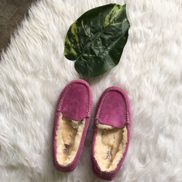 ugg purple loafers size 7 good condition | Uggs, Loafers ...