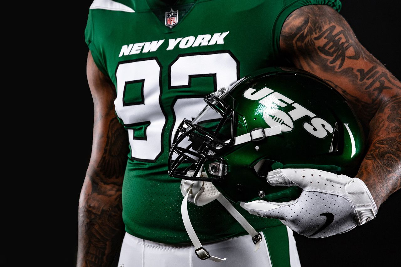 New York Jets New Uniforms Revealed In 2020 New York Jets New York Jets Football Jets Football