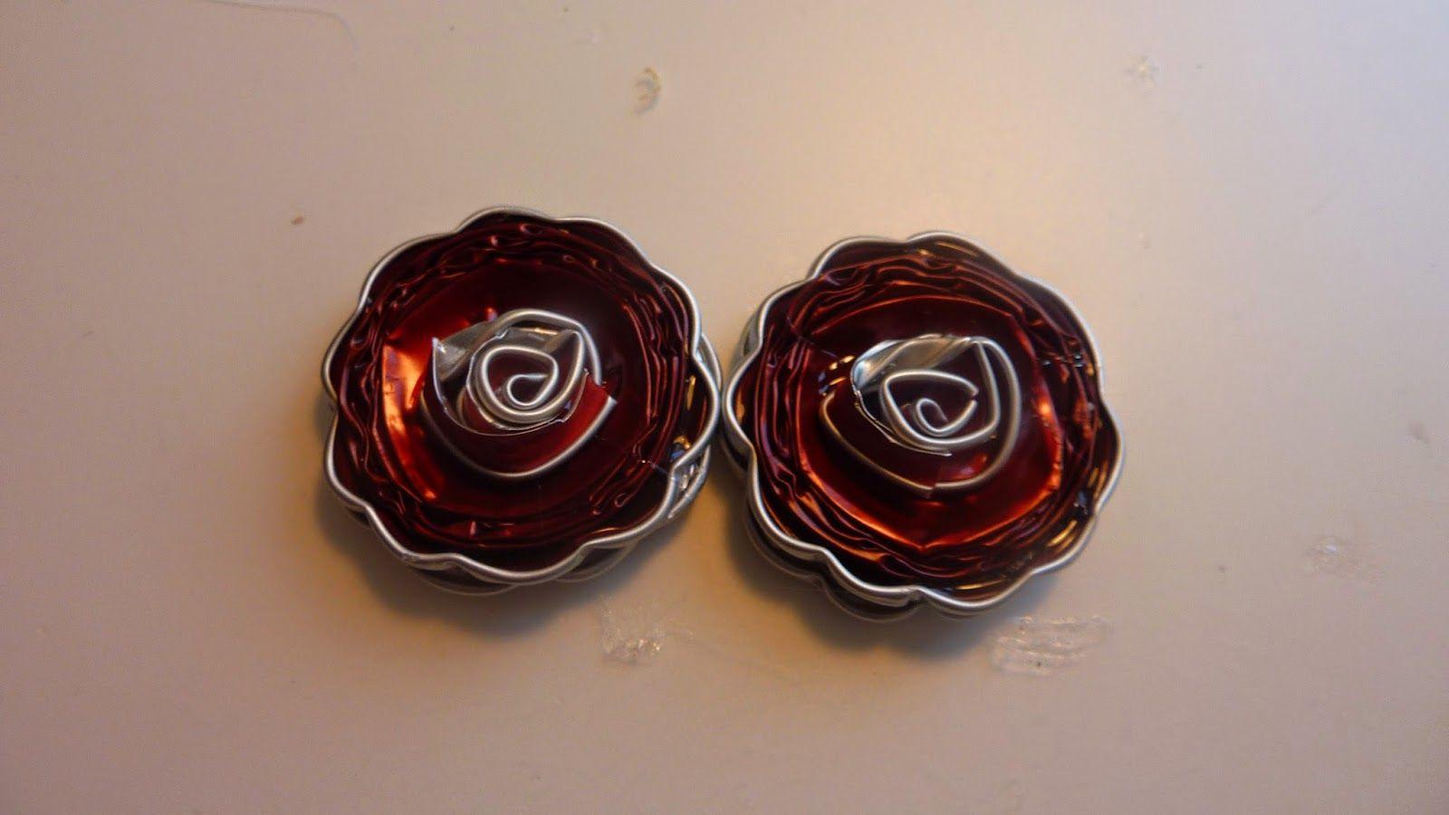 Come realizzare placche a fiore per le vostre creazioni handmade con le Cialde usate del caffè Nespresso