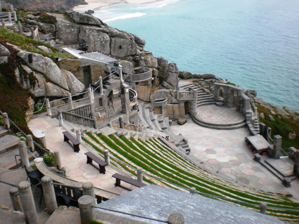 Minack theater, Cornwall England See
