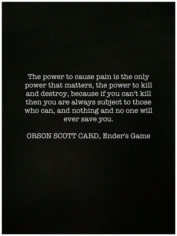 Ender S Game Quote At The Beginning Of The Movie Google Search