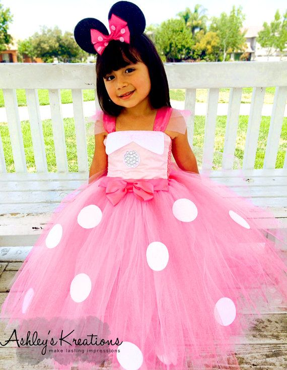 Minnie Mouse inspired tutu dress