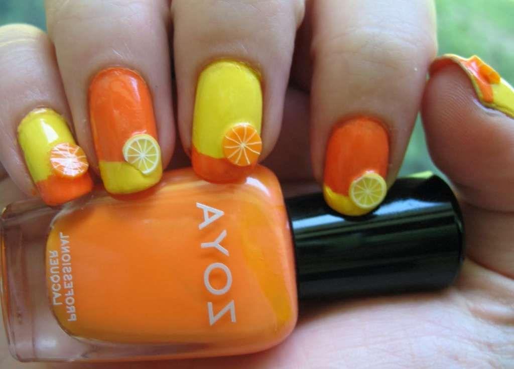 Citrus nail design one1lady nail nails nailart citrus nail design one1lady nail nails nailart prinsesfo Gallery