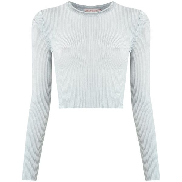 bc8e10dd3f6d89 Cecilia Prado Knitted Cropped Top (7,615 INR) ❤ liked on Polyvore featuring  tops
