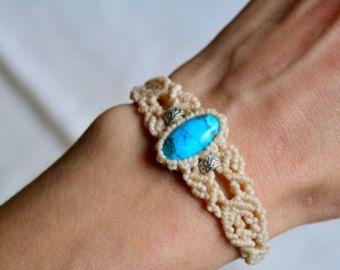 Macrame bracelet, turqouise bracelet, macrame jewelry, bracelet, macrame, bohemian bracelets, bracelets, micro macrame, boho jewelry