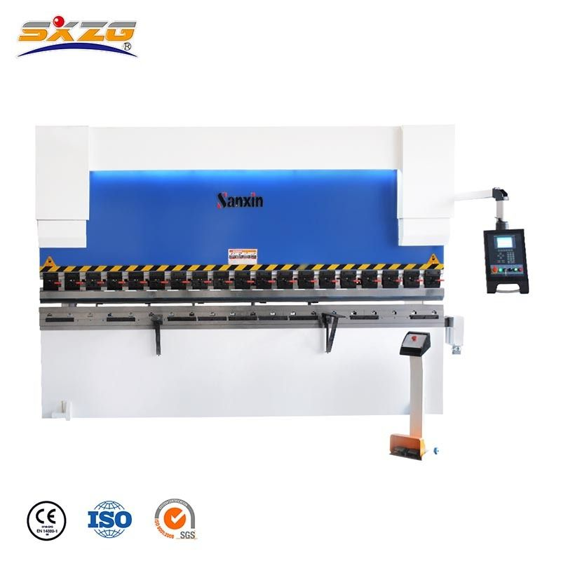 Wc67k 160t 3200mm Cnc Sheet Metal Bender With E300 Controller In 2020 Sheet Metal Bender Metal Bender Sheet Metal