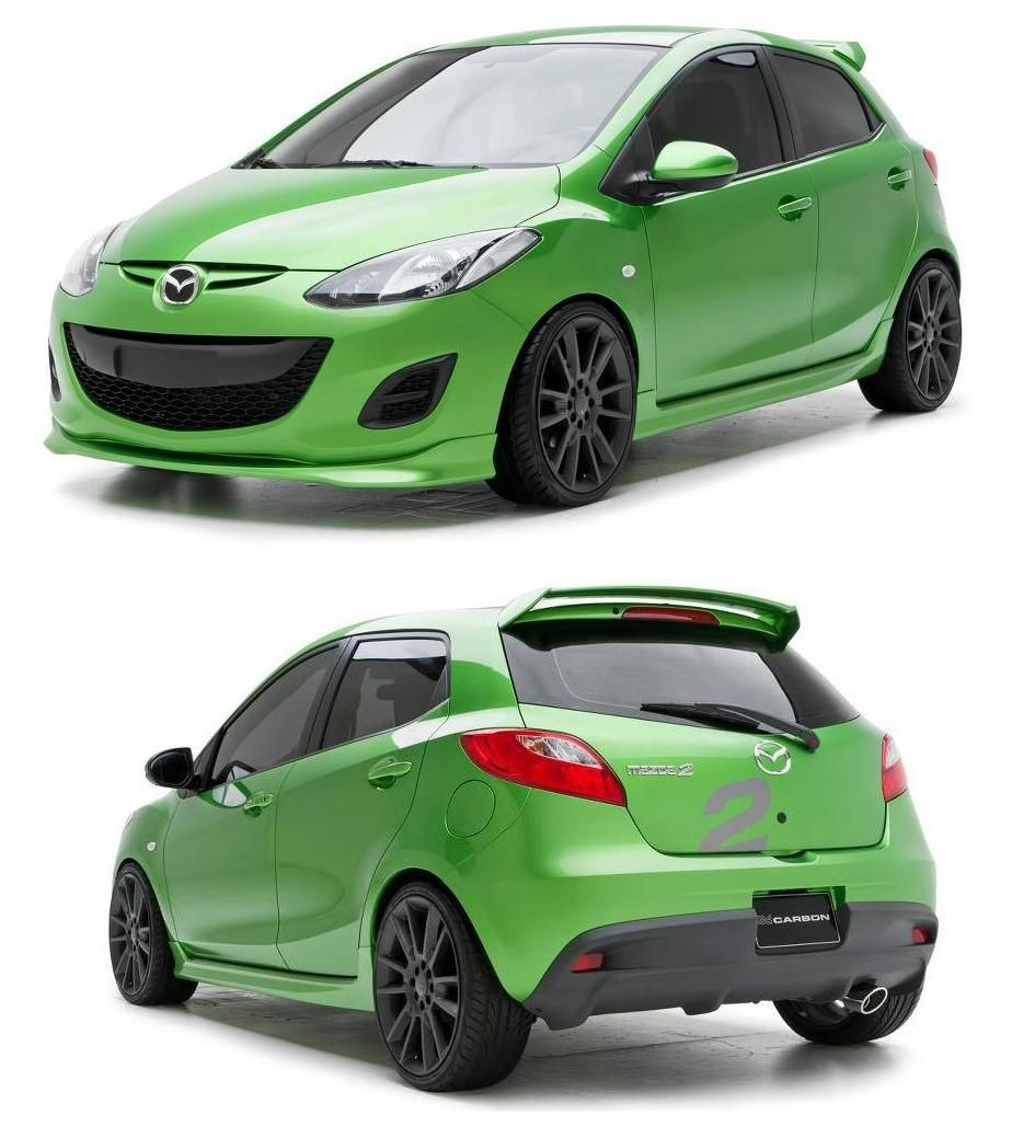 Mazda 2 Sport (URETHANE) 5 Piece Full Body Kit 12 13