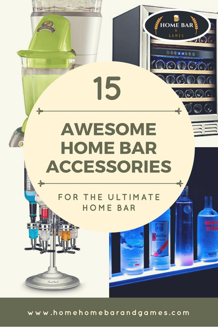 15 Cool Things For A Home Bar And