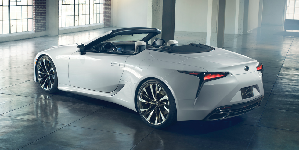 Lexus's Newest Concept Is the LC Convertible You've Been