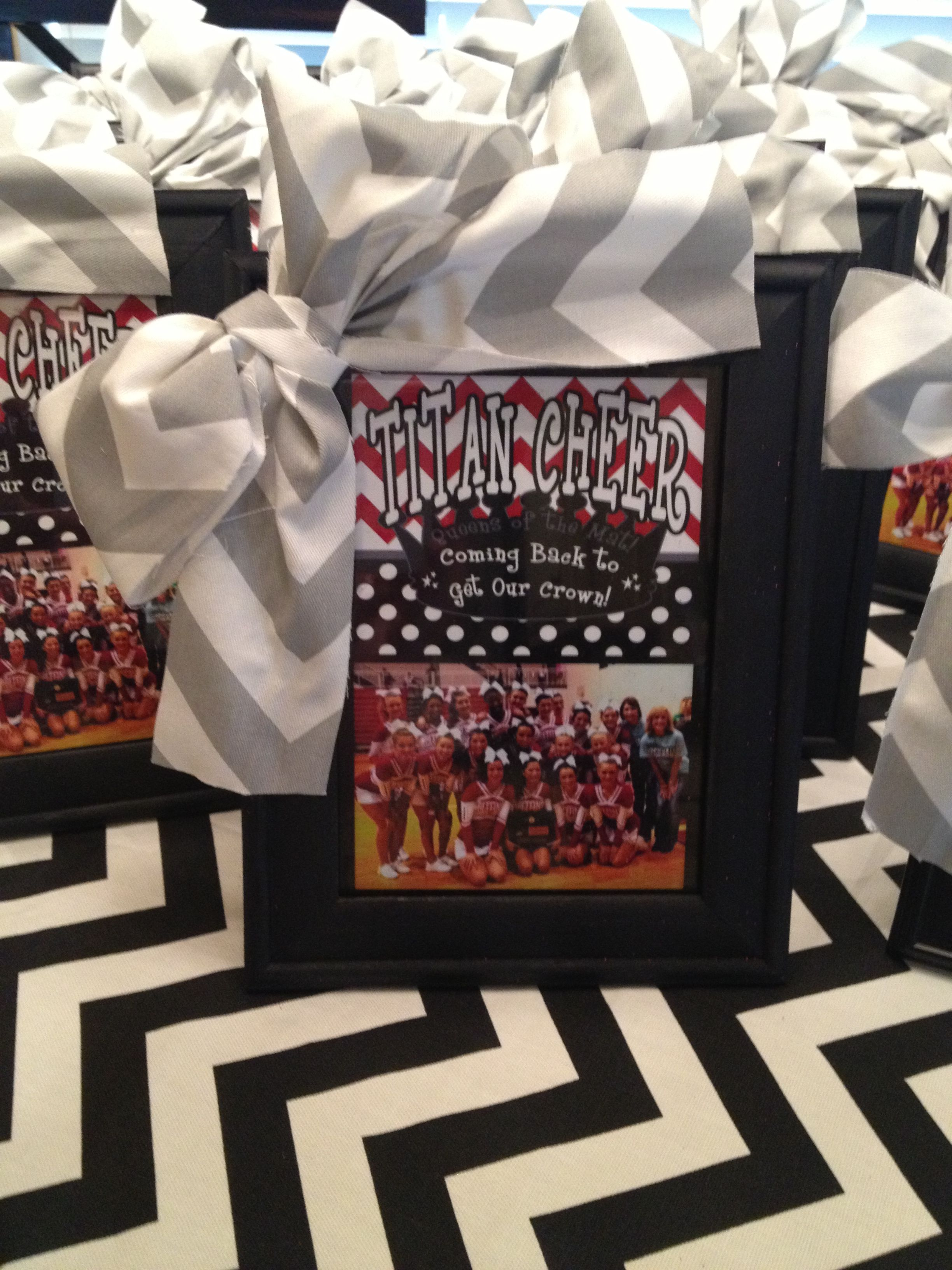Personalized Cheer Squad Frames with cheer bow | Cheer | Pinterest
