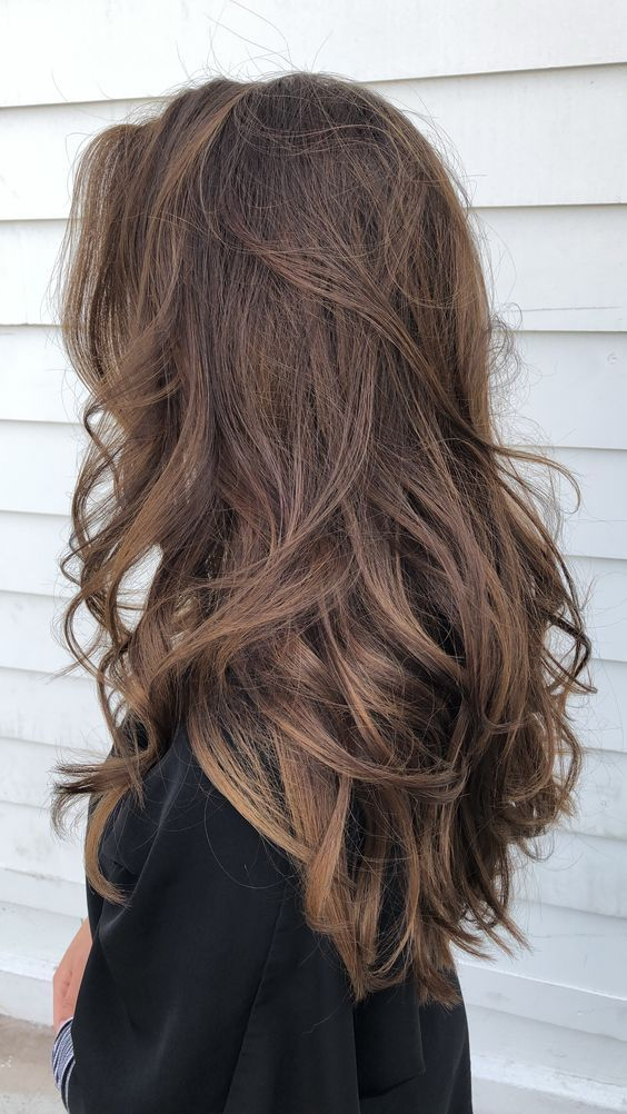 Ma source d'inspiration PINTEREST Cheveux, Cheveux bruns