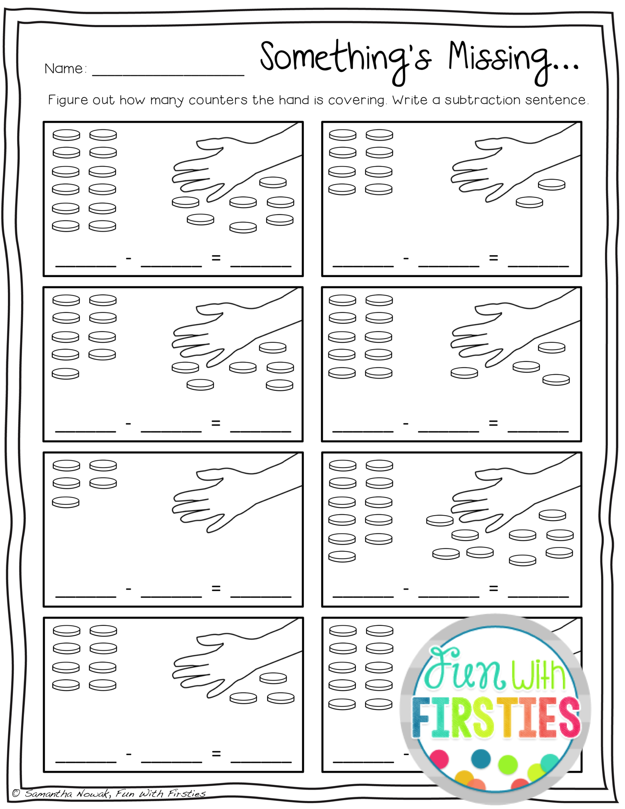 Print Amp Go Addition And Subtraction Practice Worksheets