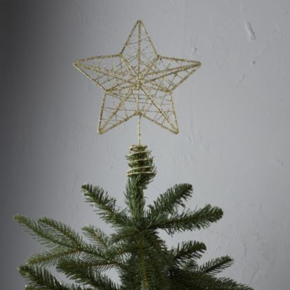 Wire Star Tree Topper Gold, 5052931236220 {Christmas} Pinterest
