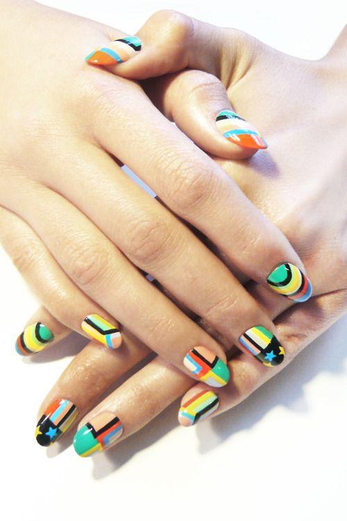 Madeline Poole Nails #urbanoutfitters #nailart