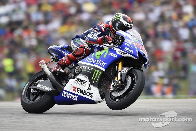 Jorge Lorenzo, Yamaha Factory Racing at French GP